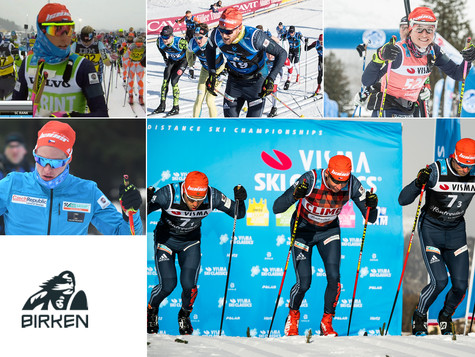 Bauer Ski Team is ready for the Birken with backpacks