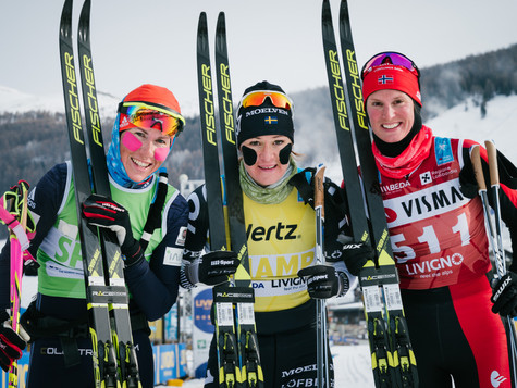 La Sgambeda: First Bauer Ski Team podium thanks to 2nd place of Katerina Smutna