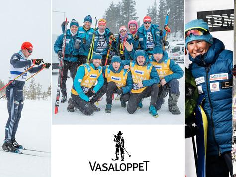 Bauer Ski Team at Vasaloppet 2018 - Katerina Smutna third, Jan Srail 60km in massive leading