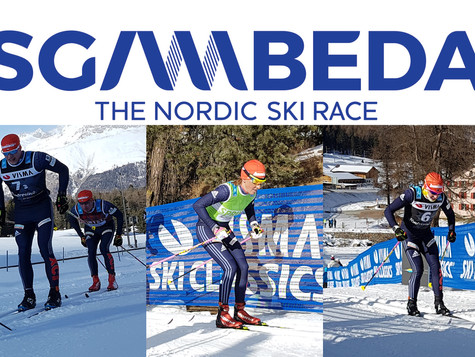 After 4th place in the prologue, the Bauer Ski Team wants to fight for the podium in La Sgambeda