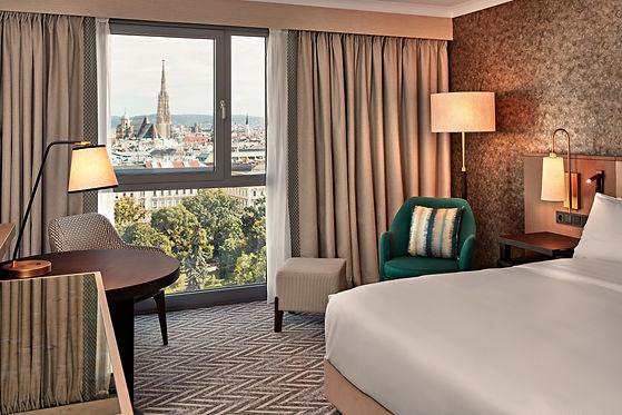 VIEHI_King Guestroom Park View_Hilton Vi