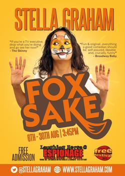 Edinburgh Fringe 2015 show