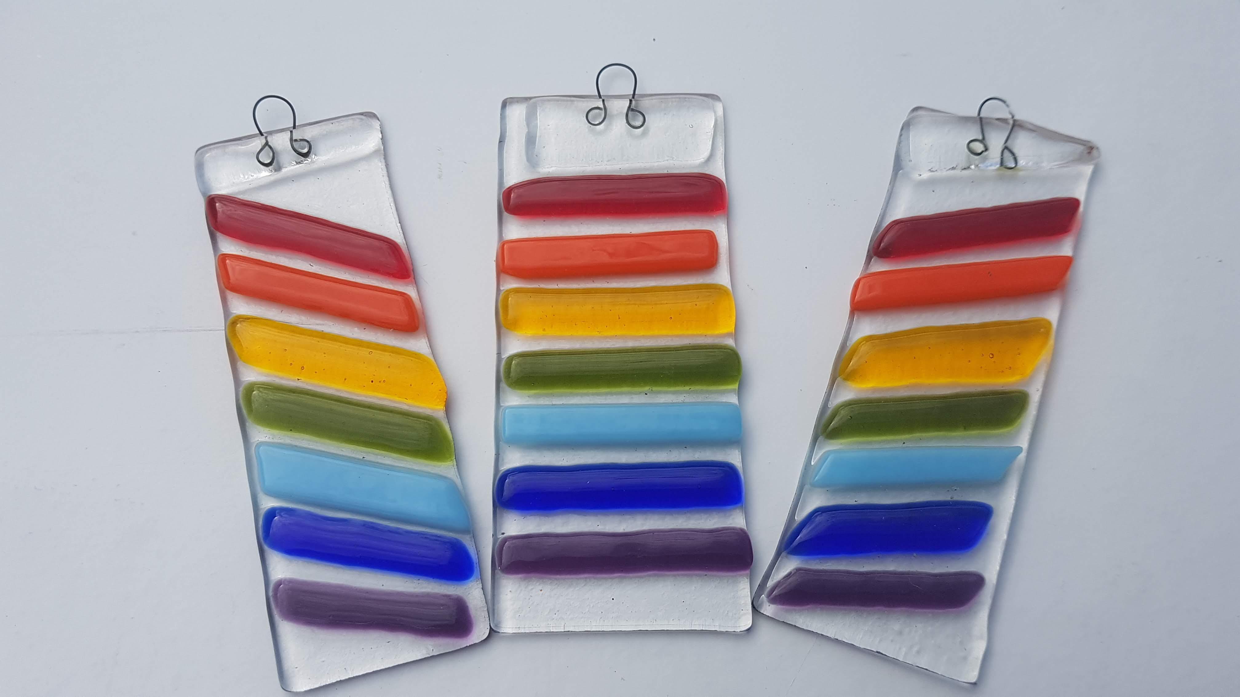 Rainbow Suncatchers or tree hangers