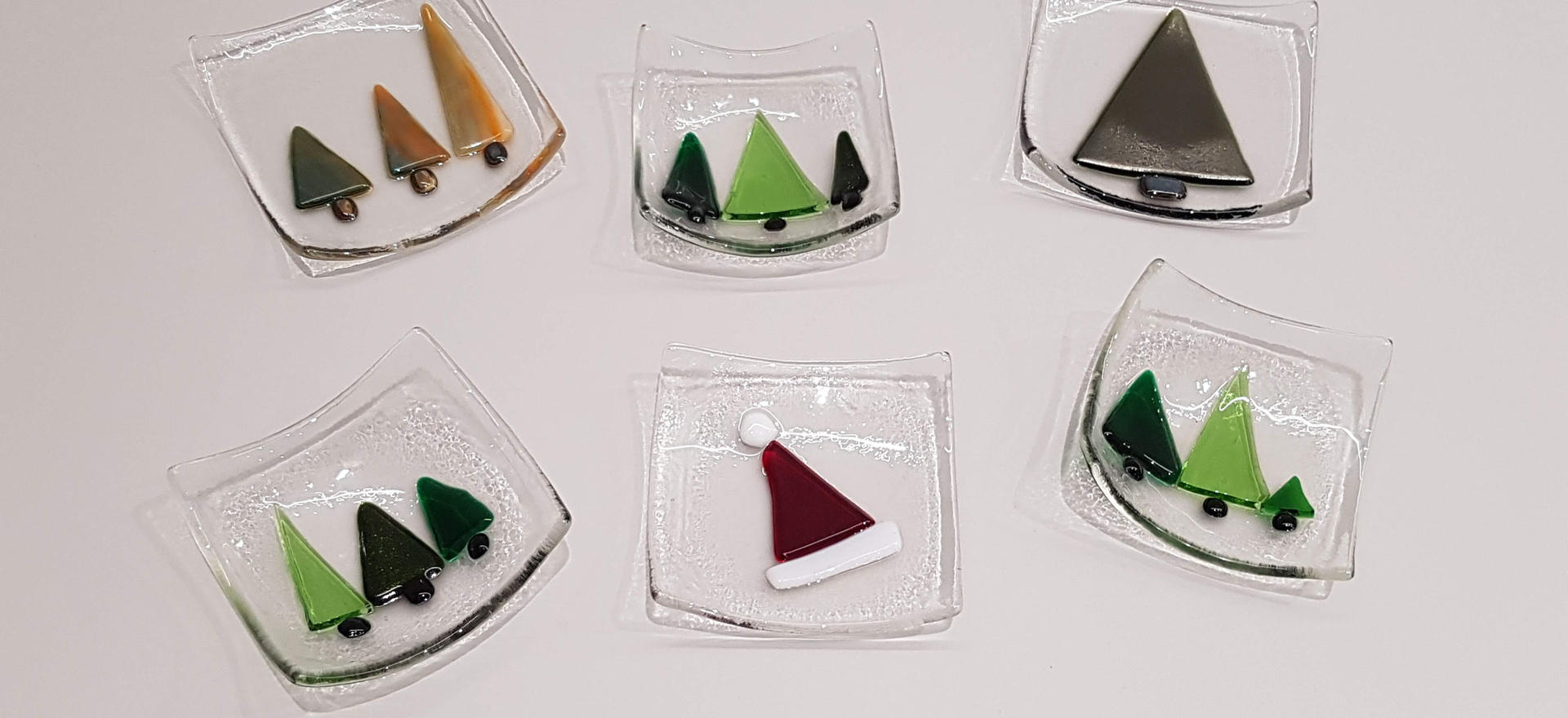 Christmas Dishes or Candle Holders