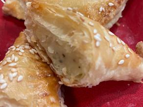 RECIPE: Potato & Onion Bourekas