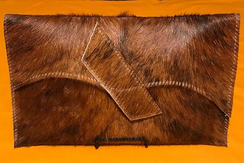 Cowhide Clutch Bag - HC10016