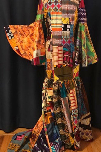 ND-ONI-007    Trumpet Gown