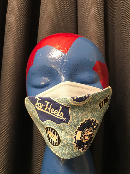 Adult 3D-2Ply Face Mask - UNC2