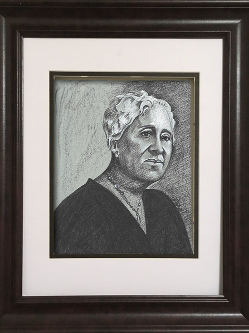 GPMT - Charcoal drawing - Mary Church Terrell