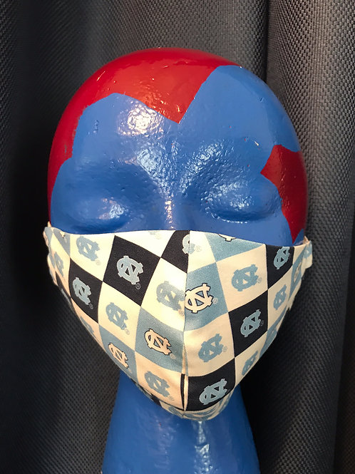 Adult Flat Face Mask - UNC5