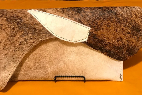 Cowhide Clutch Bag - HC10013