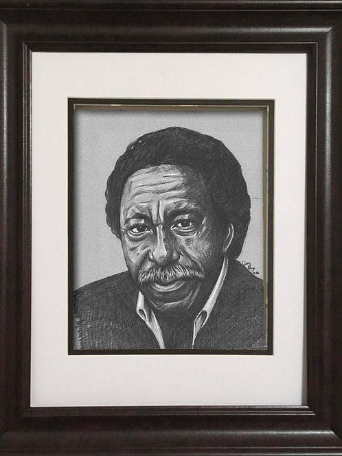 GPGP - Charcoal drawing - Gordon Parks