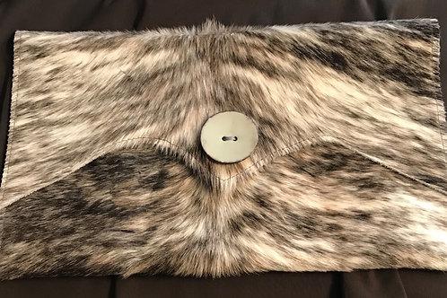 Large Cowhide Clutch Bag - HC10033