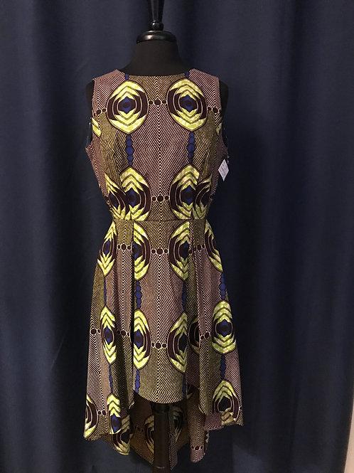 ND-Dress553  Sleeveless HiLo Dress