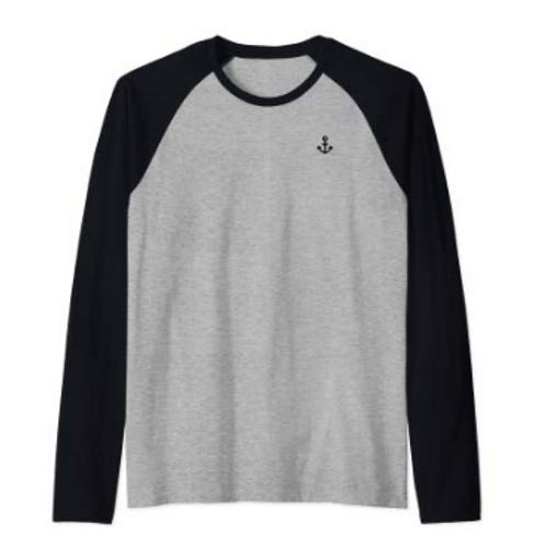 Men's Long Sleeve Baseball Shirt