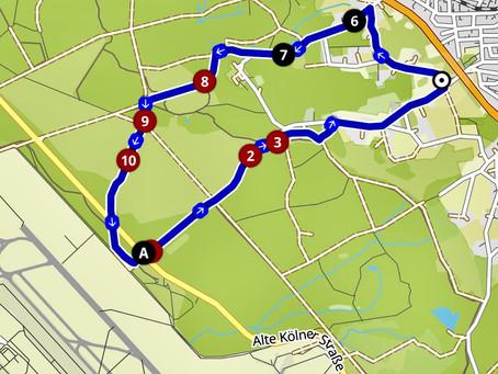 """Wanderung """"Wolfsweg am Geisterbusch"""""""