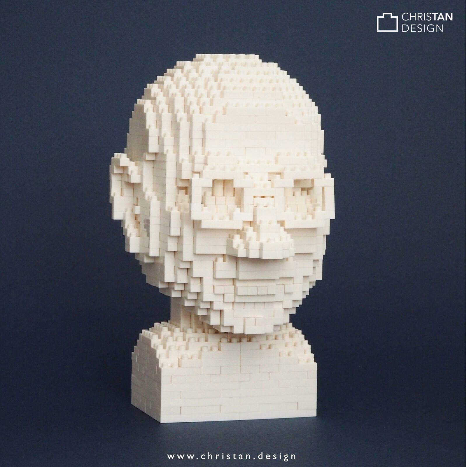 nanoblock Steve Jobs Bust