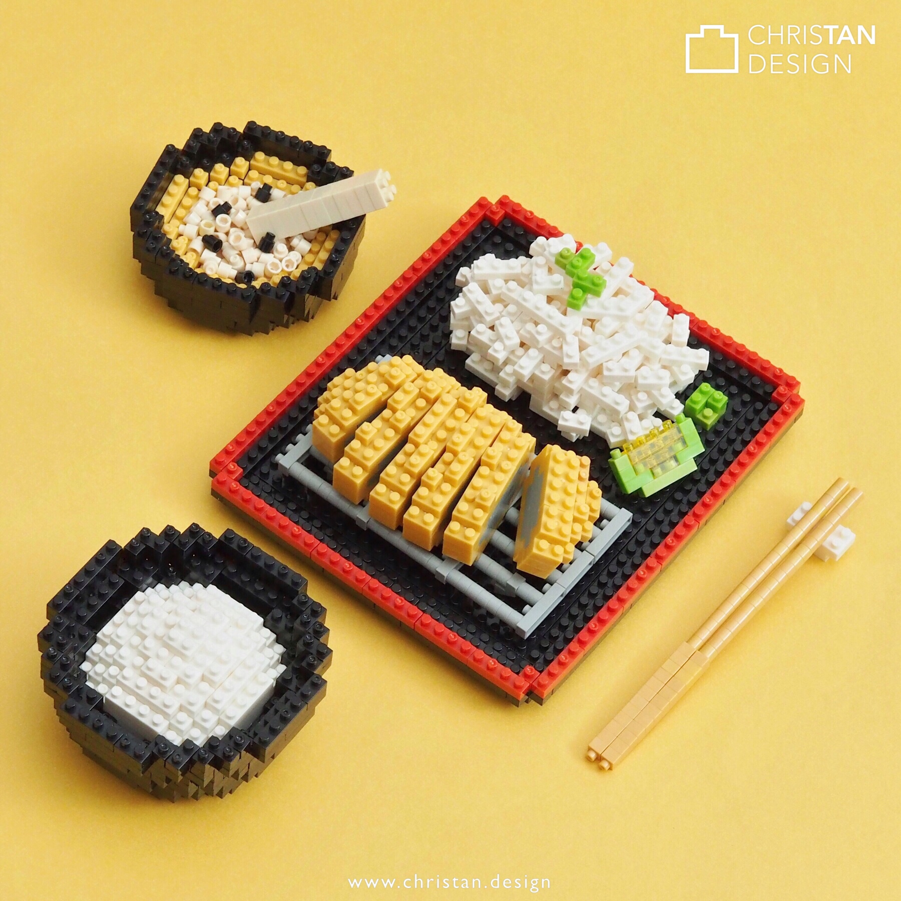 nanoblock Tonkatsu Set