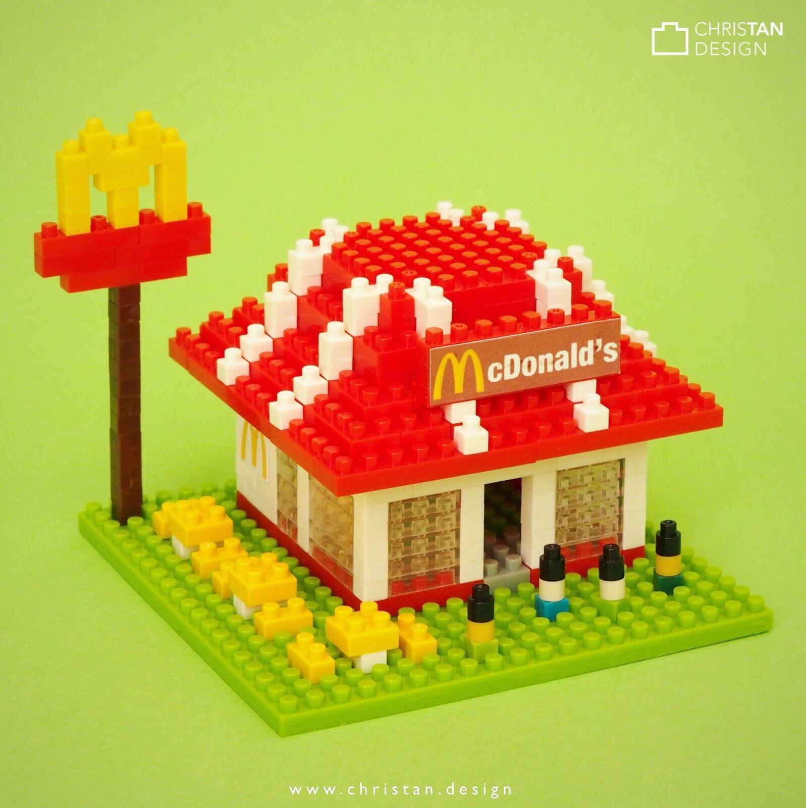 nanoblock McDonald's