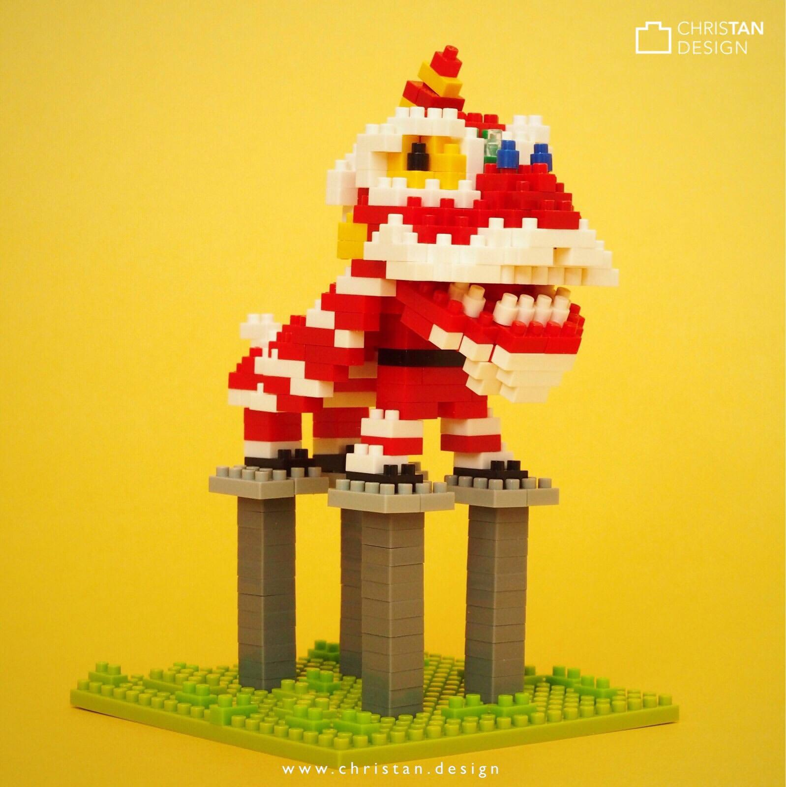 nanoblock Lion Dance