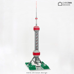 nanoblock Oriental Pearl Tower