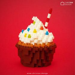 nanoblock Cup Cake
