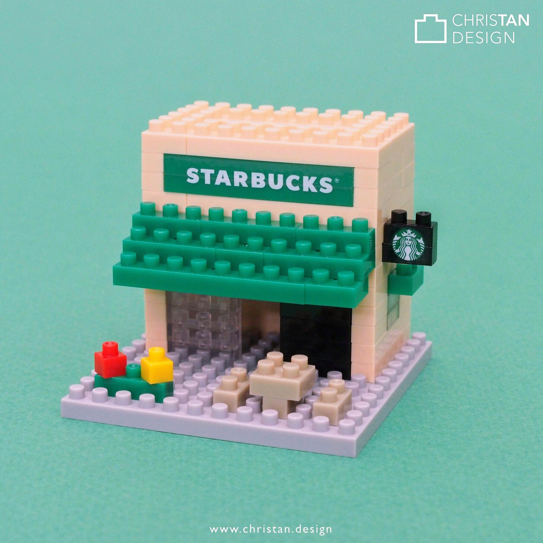 Custom miniblock for Starbucks