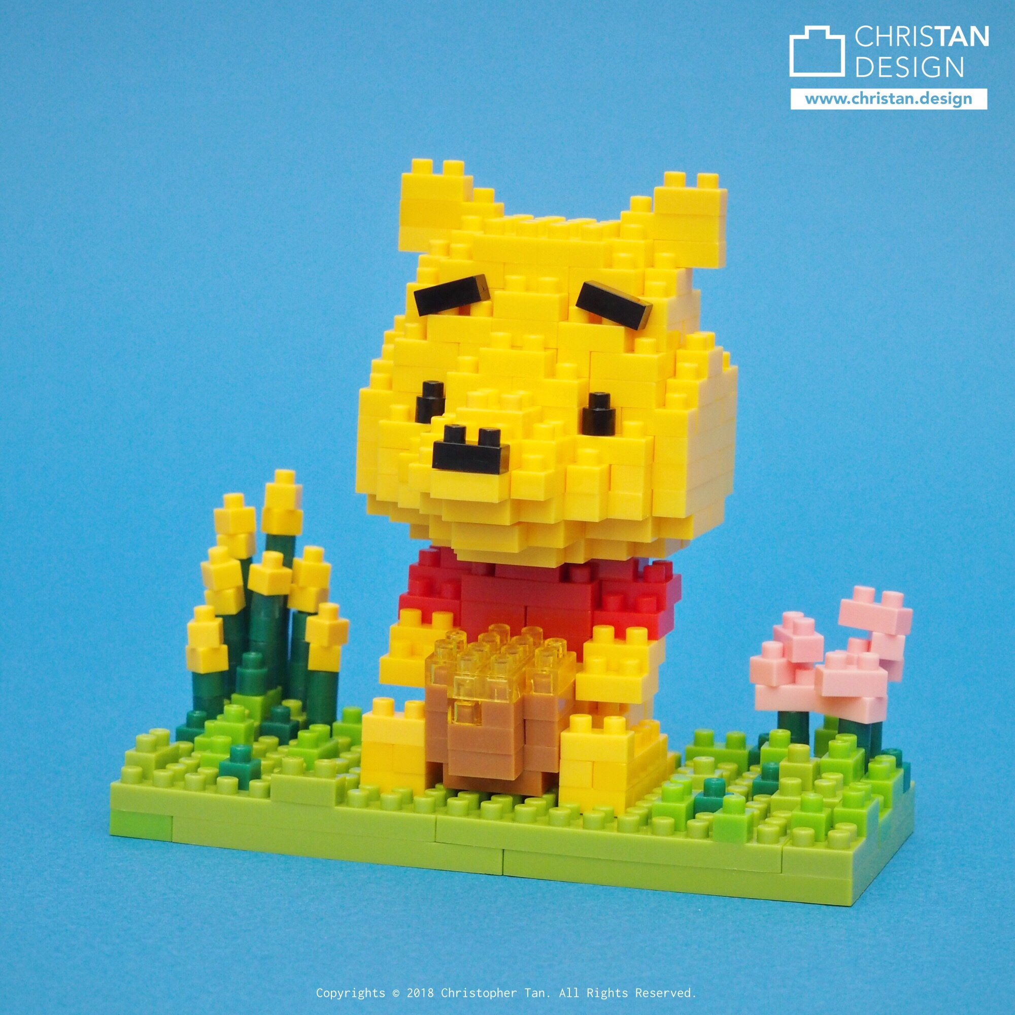 nanoblock Winnie the Pooh
