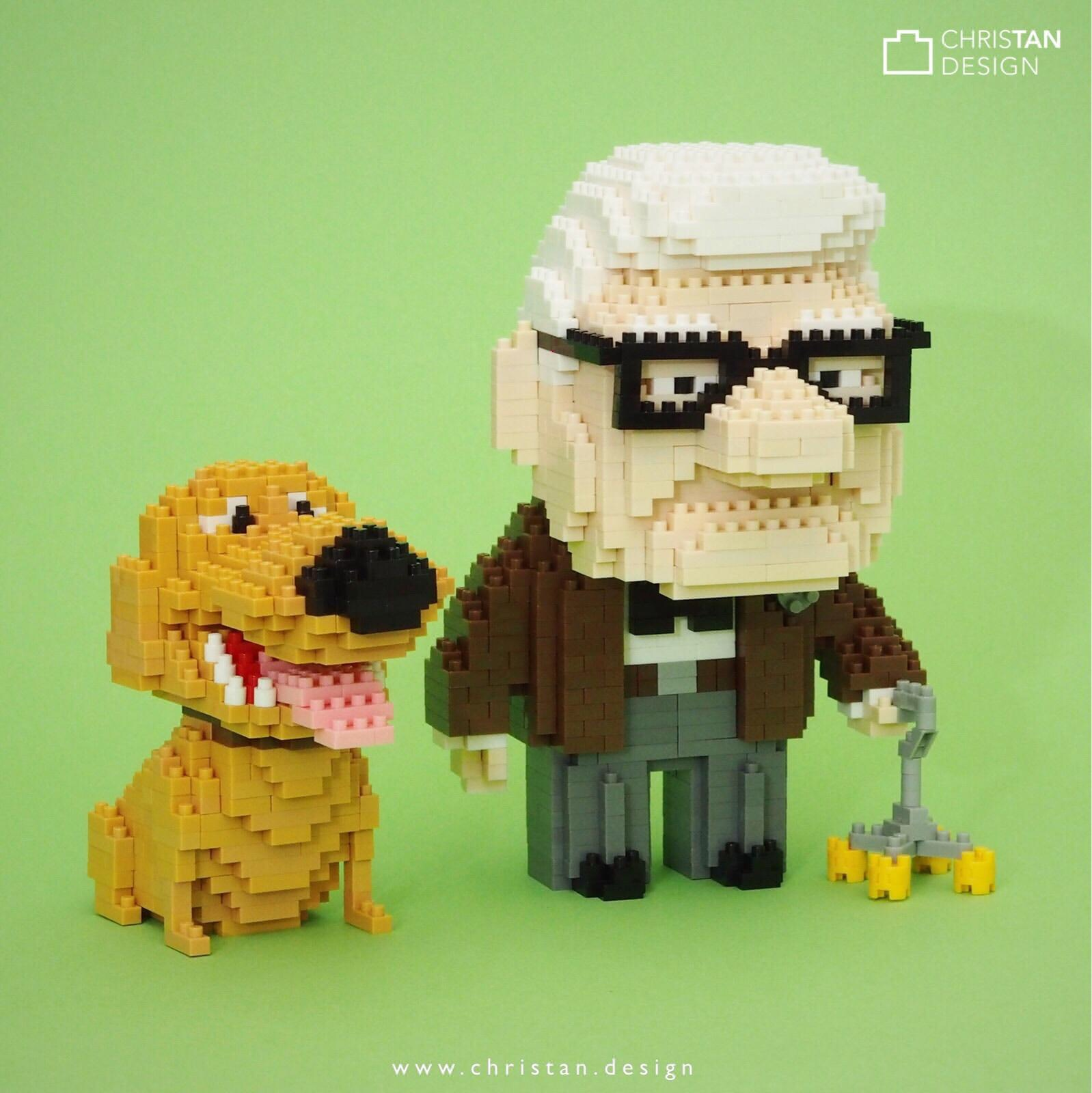 Carl and Dug