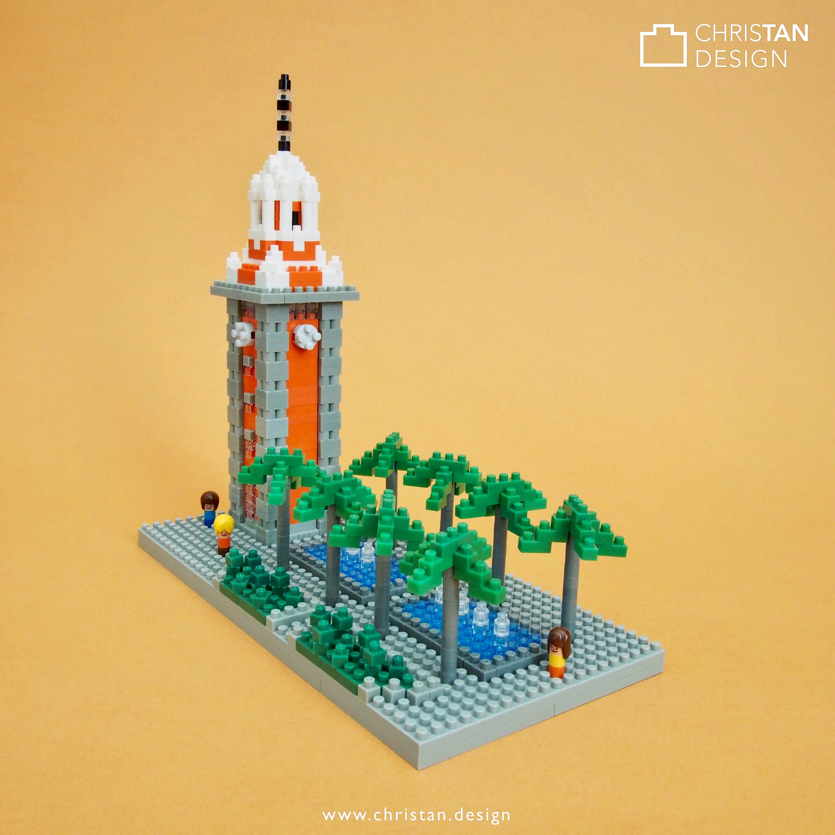 nanoblock Tsim Tsa Tsui Clock Tower
