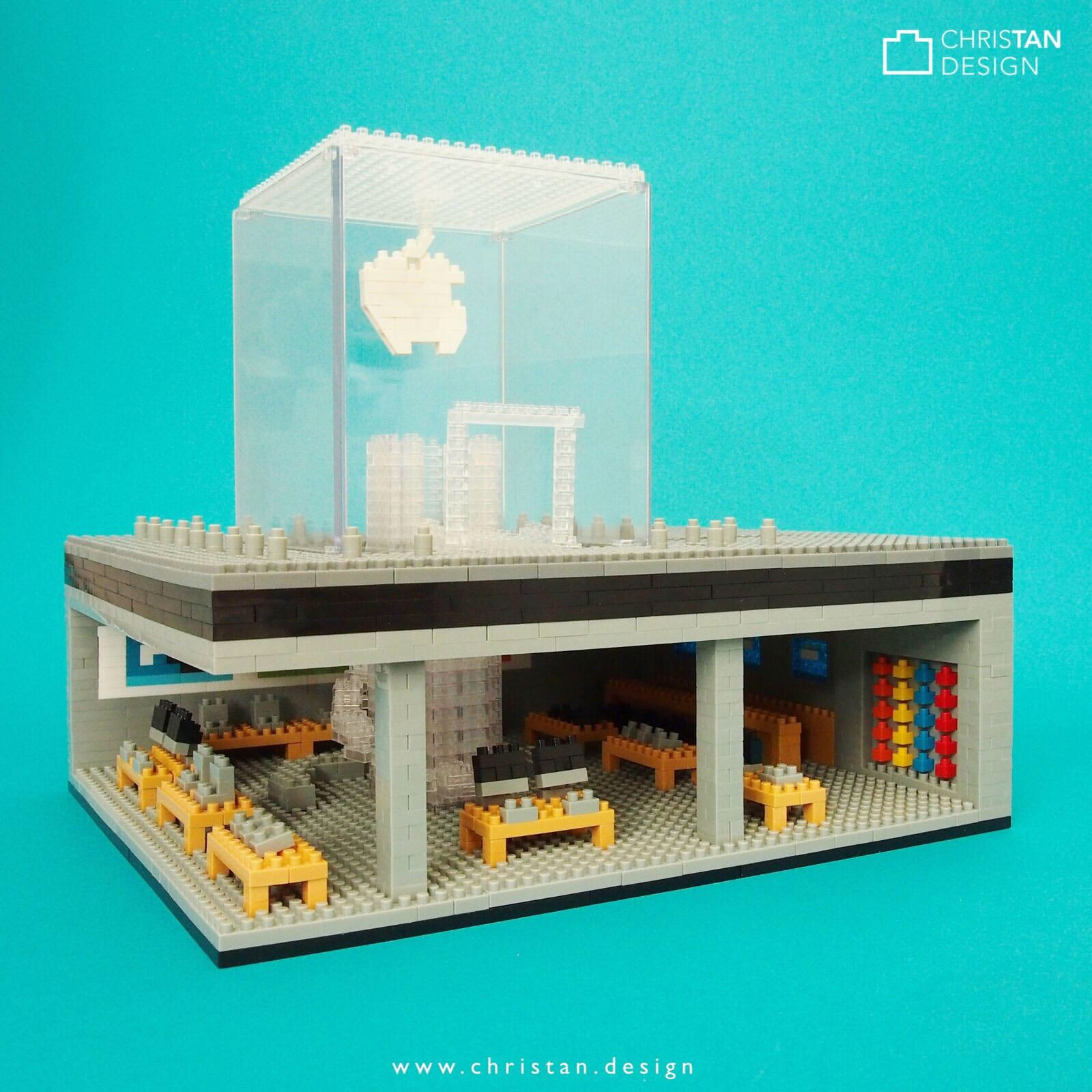 nanoblock Apple Store