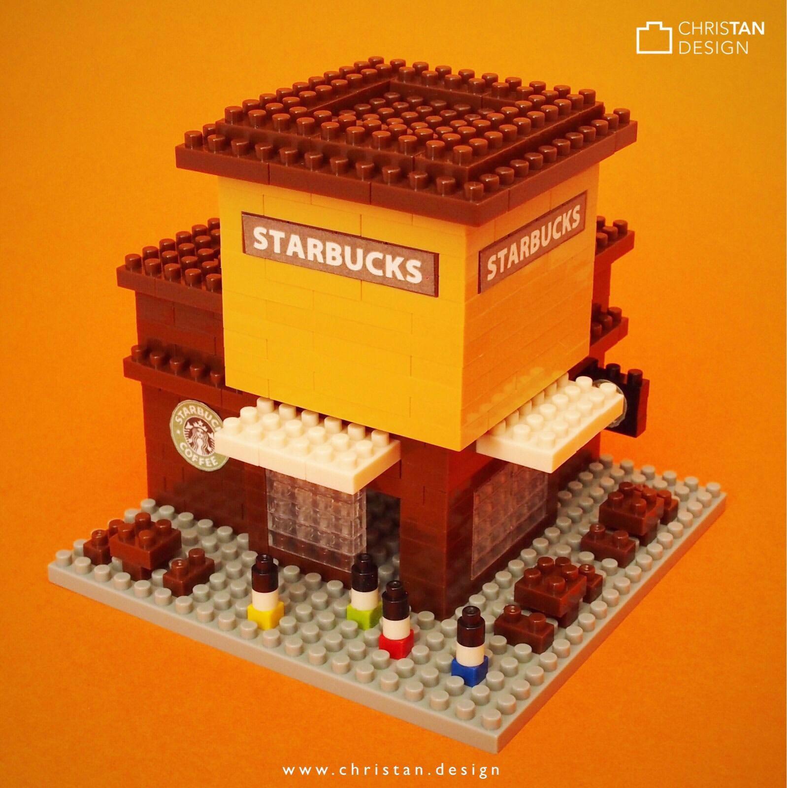 nanoblock Starbucks