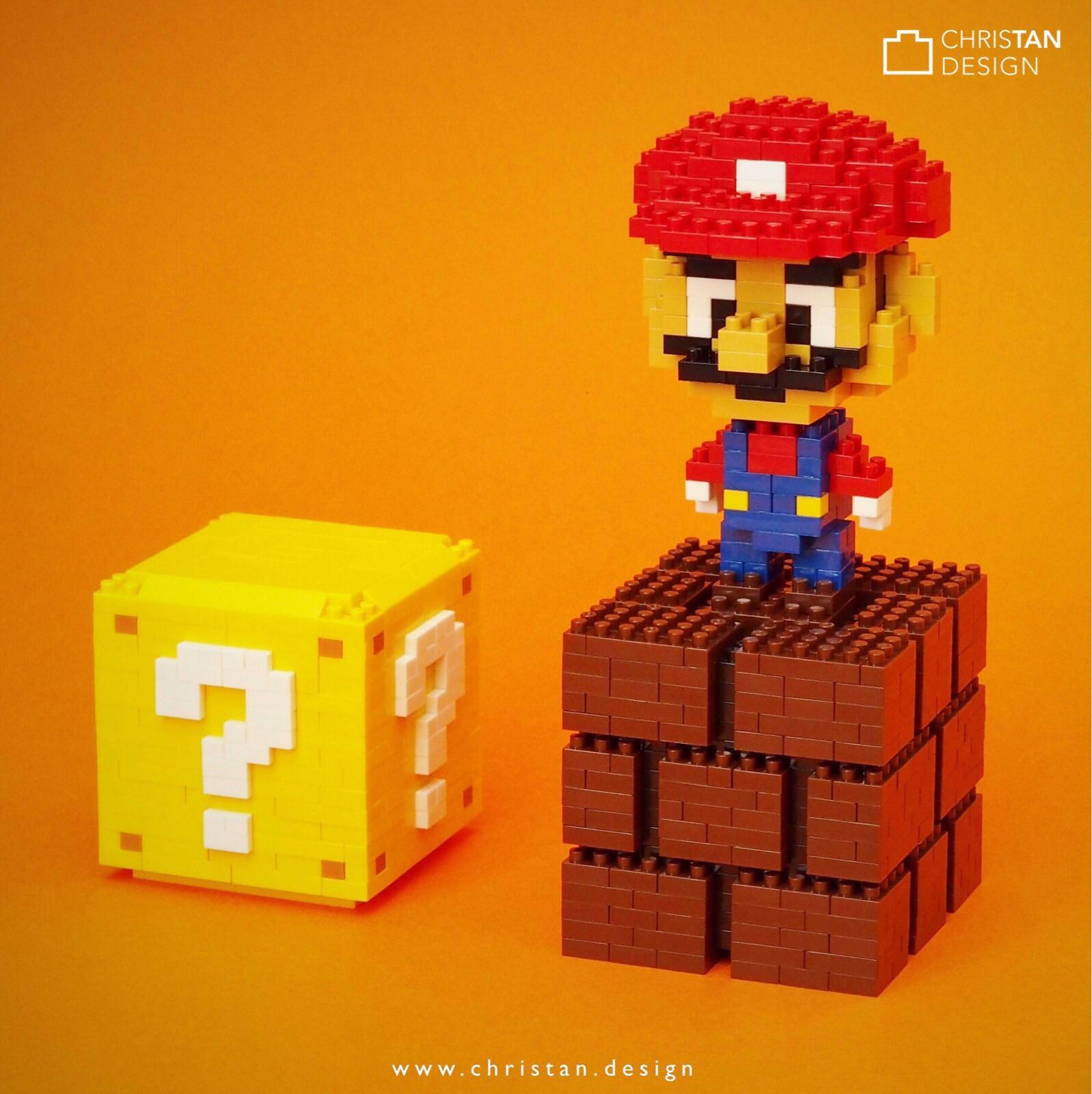 nanoblock Mario