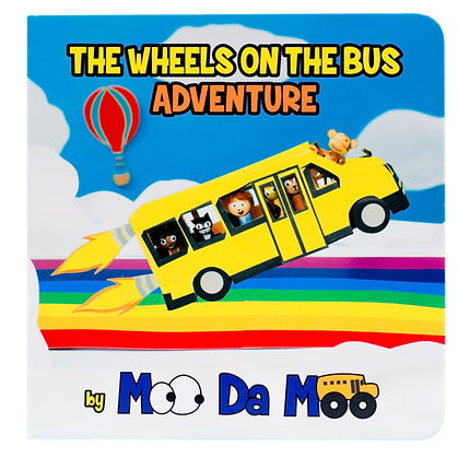 The Wheels on the Bus Adventure board book