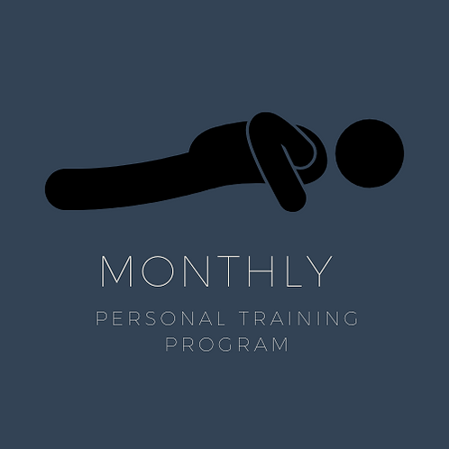 1-2-1 Remote Monthly Personal Training