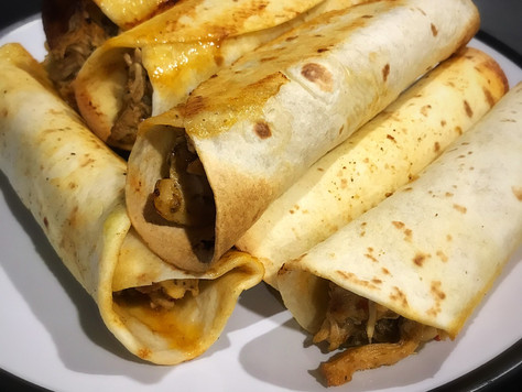 Slow Cooked Macro Friendly Taquitos