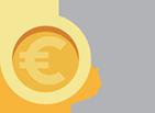 Euros, euros in the world, euros business