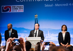 Meeting with Francois Hollande,
