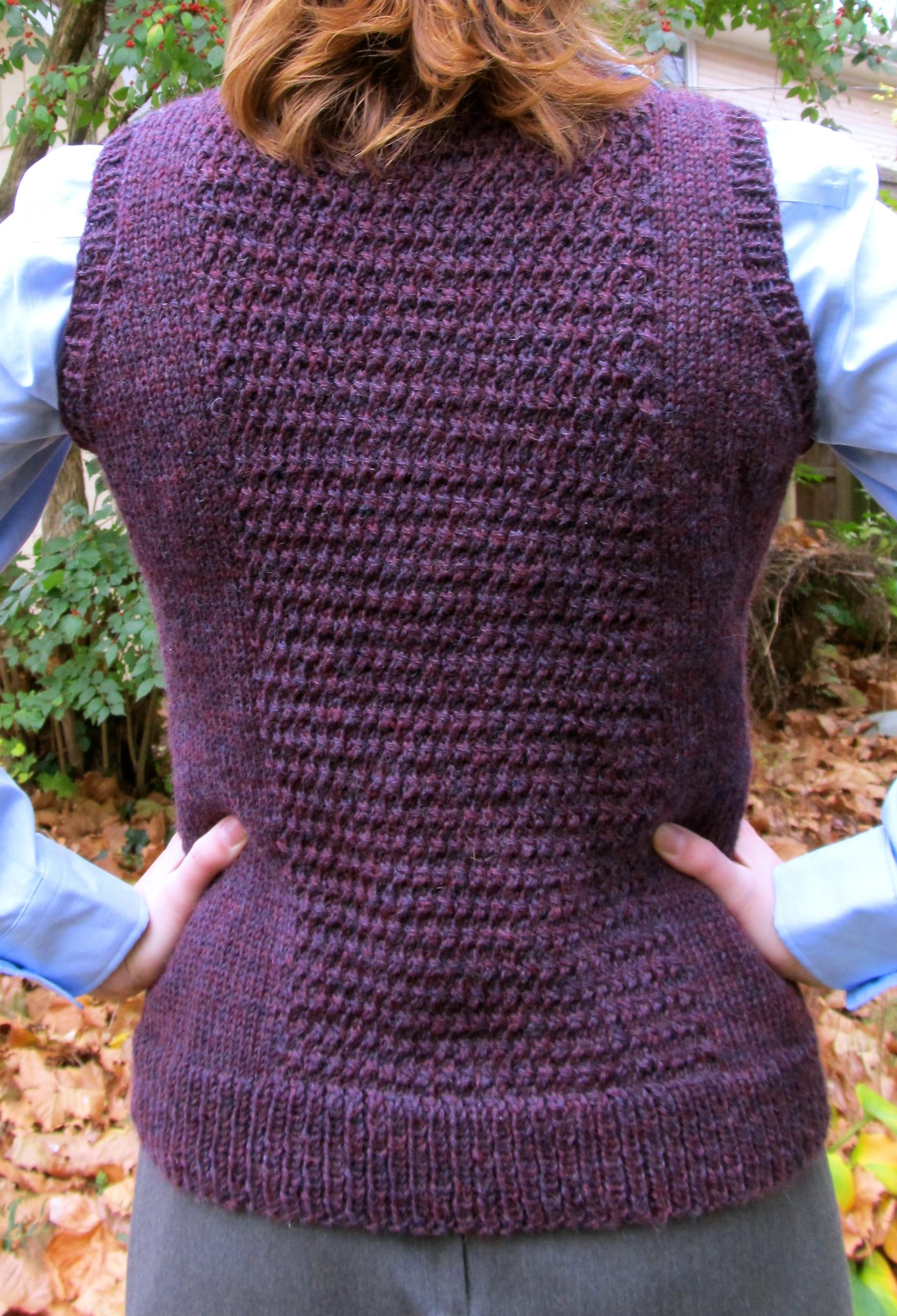 Vest detail