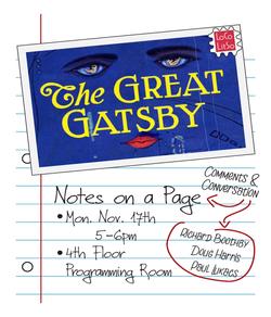 Great Gatsby Flyer