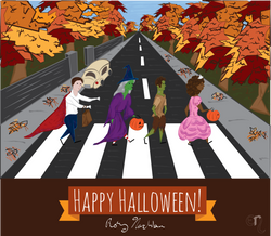 Trick or Treating on Abbey Road