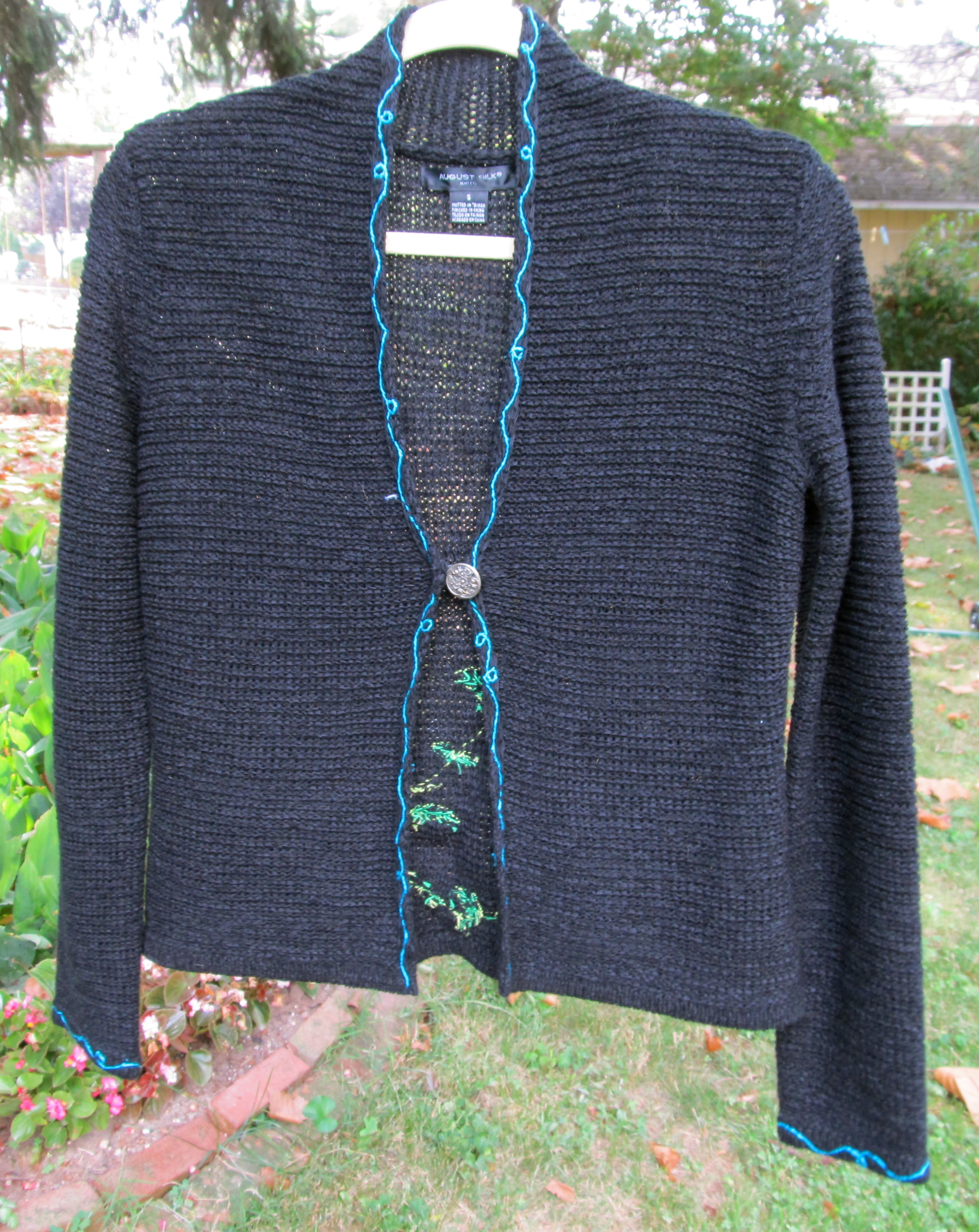 Hand Embroidered Sweater
