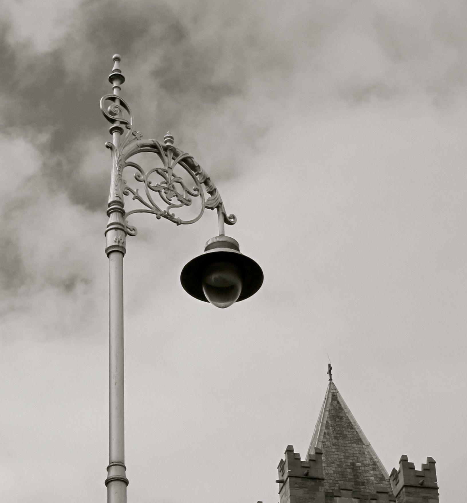 Street lamp of Dublin