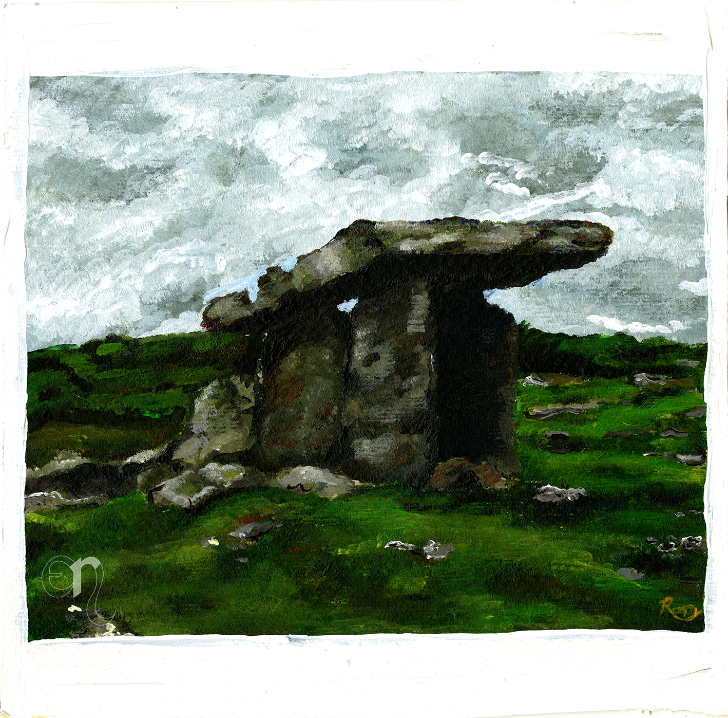 Poulnabrone Portal Tomb