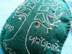 Tree of Gondor Ornament Detail