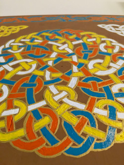 Celtic Knot detail
