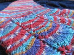 Sock detail