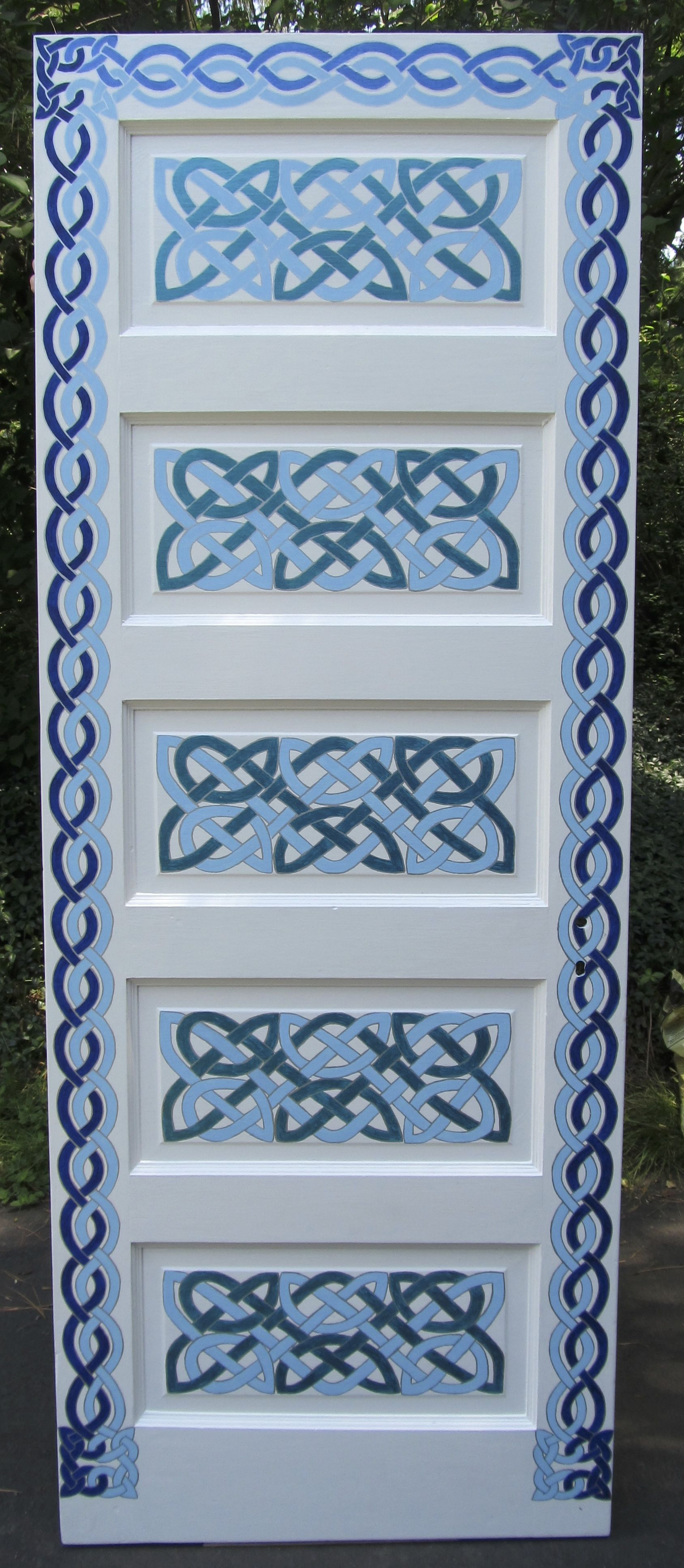 Celtic Knot Door