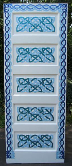 Celtic Knot Door