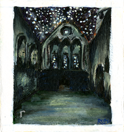Cistercian Abbey with Stars